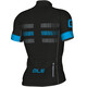 Alé Cycling Graphics PRR Strada Bike Jersey Shortsleeve Men blue/black